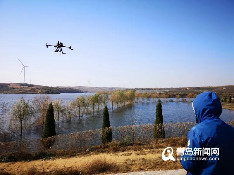 """翼眸科技助力青島""""無人機+環境執法""""的水環境監管執法新模式"""