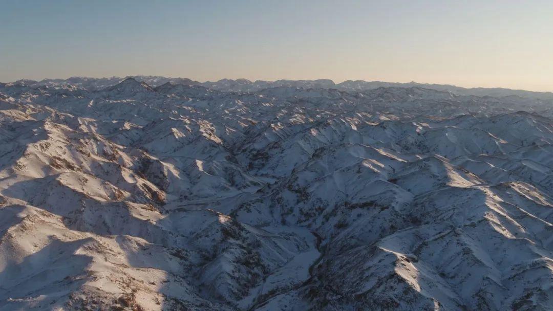 神奇的美景——乌拉山冰瀑