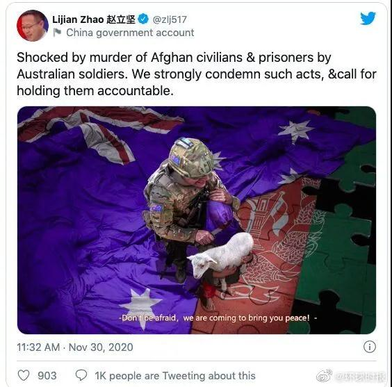"""一幅漫画气得澳大利亚总理""""要求中国道歉"""",原作者回应:那我今晚有空再画一张吧"""