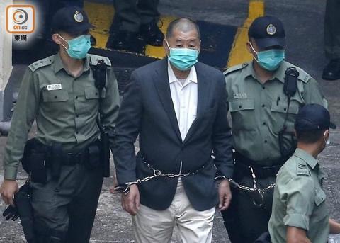 法院批准香港律政司上诉许可 黎智英须即时还押