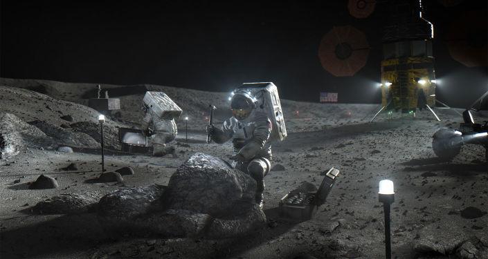 俄院士:适合建立月球基地的地方不多 竞争会很激烈