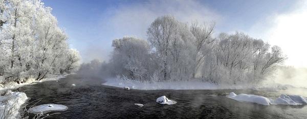 @摄影爱好者 快来逊克县赏冬景、观雾凇
