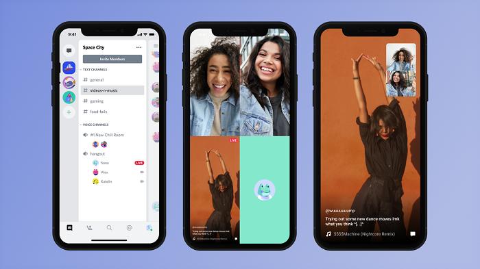 Discord现已支持iOS和Android设备上的屏幕分享功能