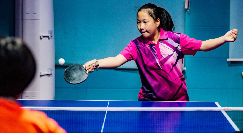 """2020年未央区""""方馨杯""""中小学生乒乓球比赛开赛"""