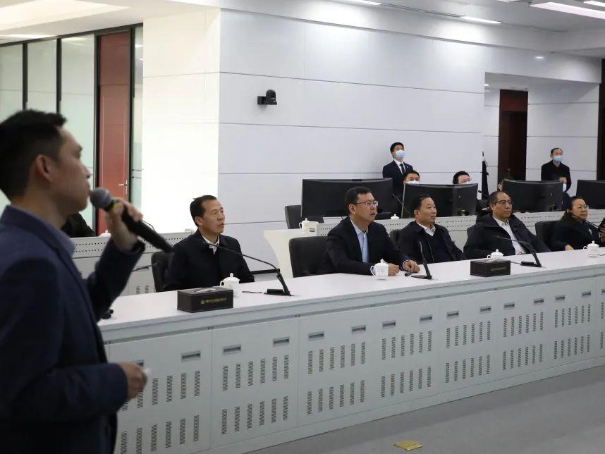 中国铁路工程集团有限公司党委副书记、总经理陈文健到中铁大桥局集团有限公司开展工作调研