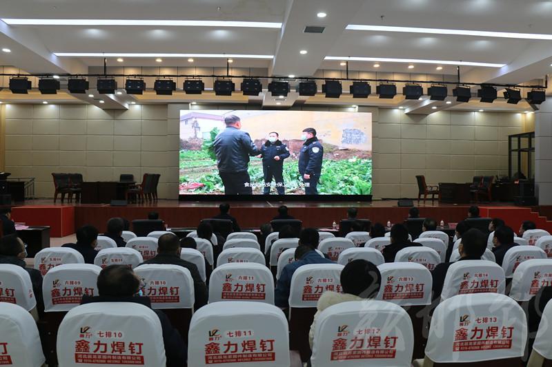 河北邯郸举办食品安全突发事件(IV级)应急演练