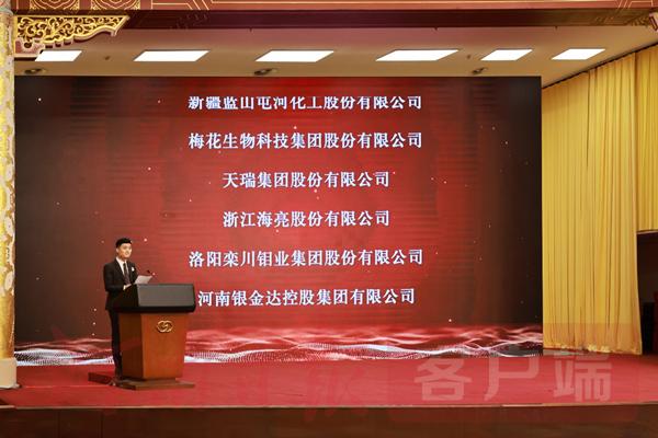 天瑞集团荣膺中国工业大奖表彰奖