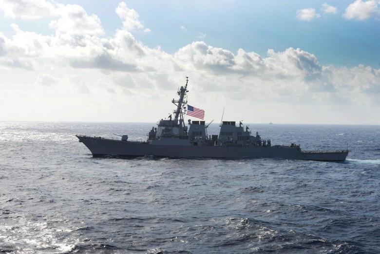 又挑衅!港媒:两艘美舰今晨穿航台湾海峡
