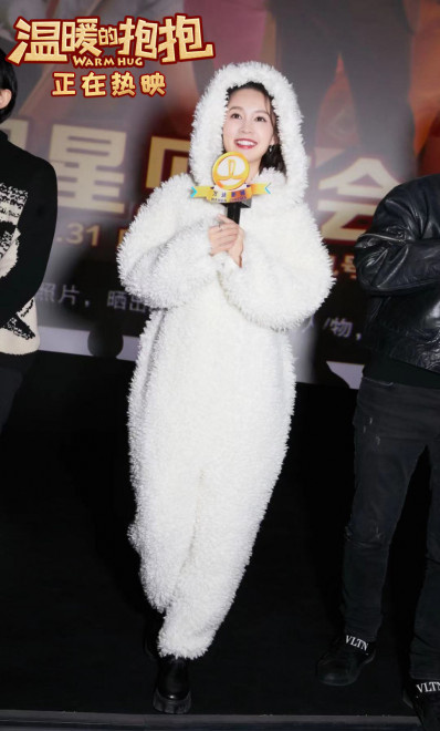 《温暖的抱抱》票房破两亿 常远李沁路演欢乐跨年