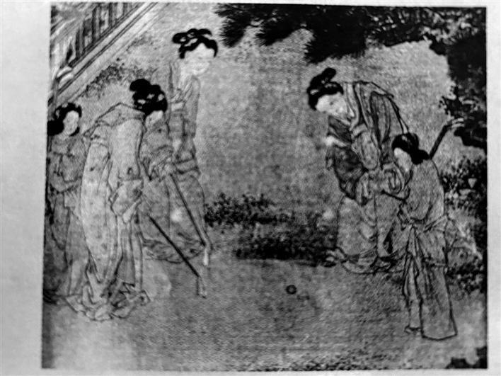 中国古代高尔夫球——捶丸