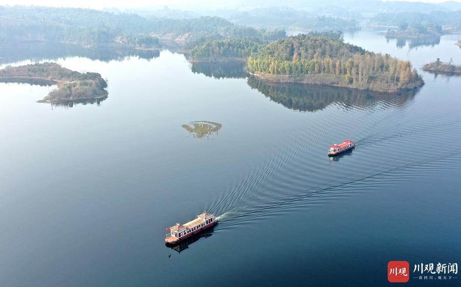 仁寿:黑龙滩湖泊水质太好了 不要让农夫山泉知道