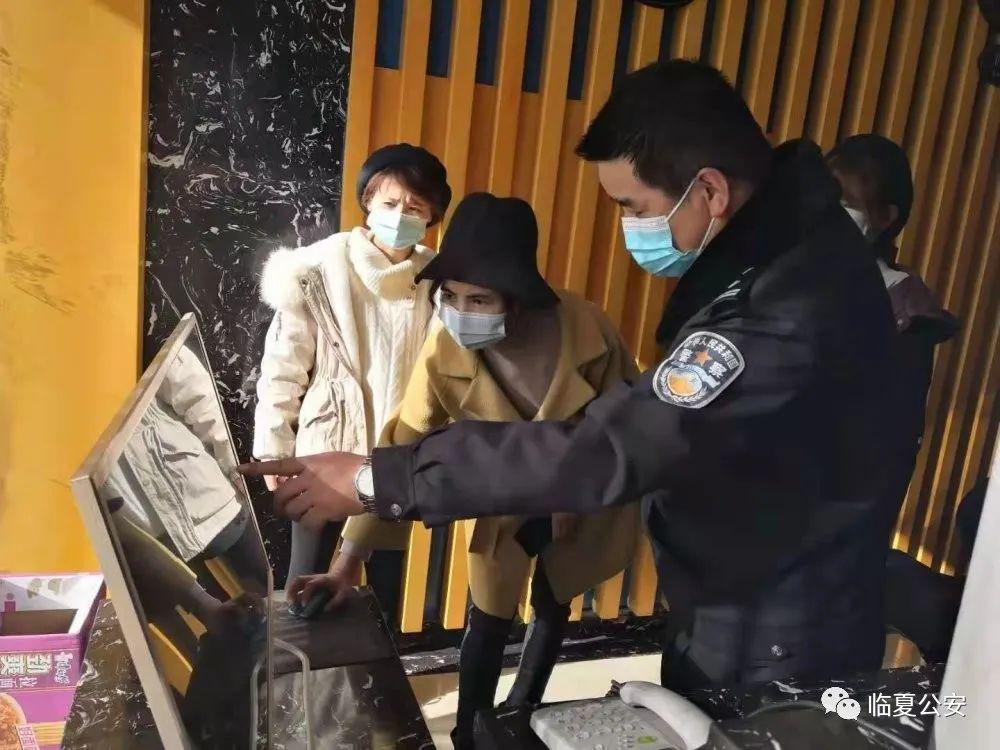 """【防疫情 战严寒 守平安】在疫情防控一线的""""公安蓝"""""""
