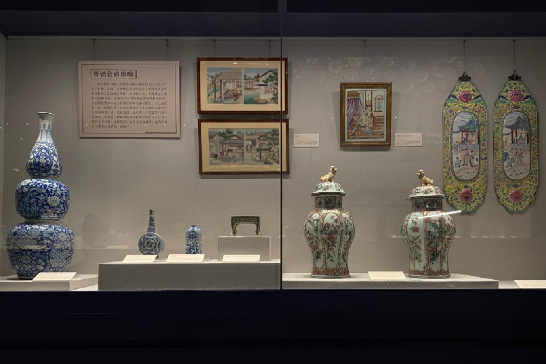 """世茂海上丝路博物馆开馆:再读故宫文物,发现呈现""""海丝"""""""