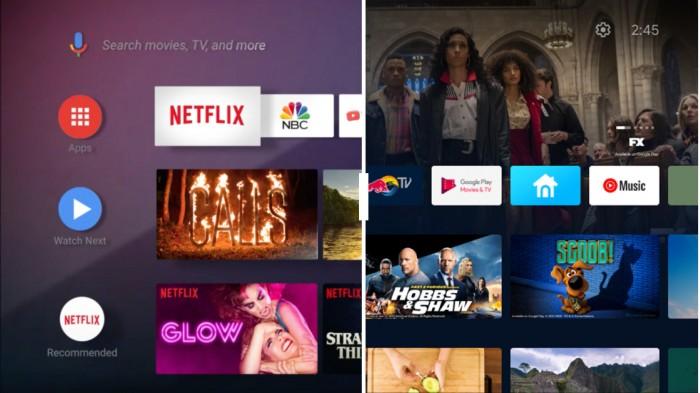 Android TV更新后外观跟Chromecast Google TV更一致