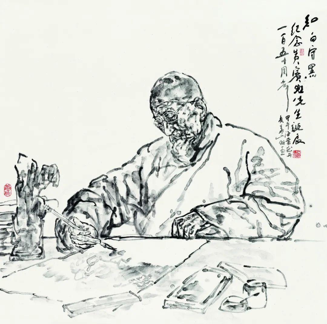 著名浙派人物画家吴山明因病在杭州逝世,享年80岁