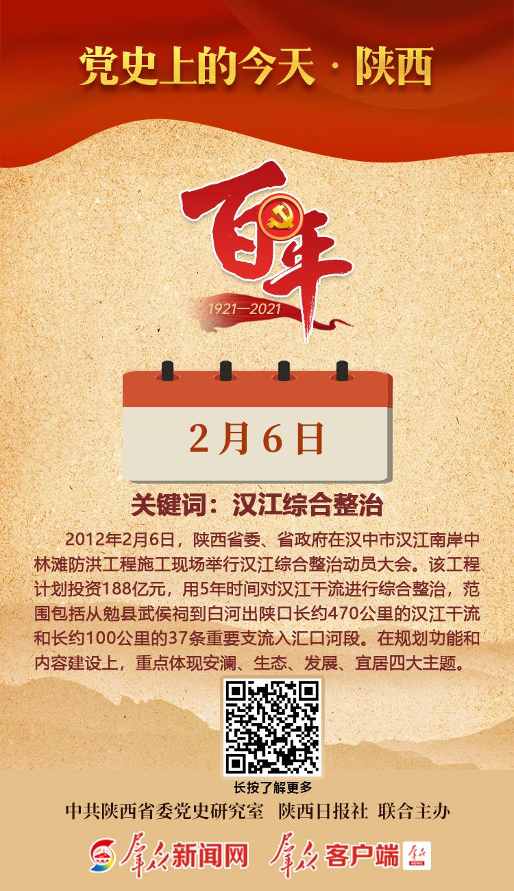 党史上的今天·陕西(2月6日)