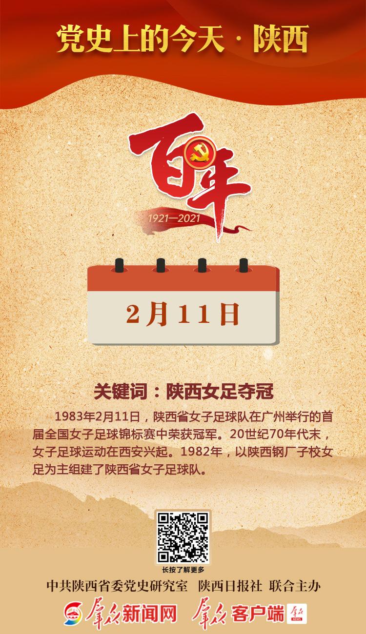 党史上的今天·陕西(2月11日)