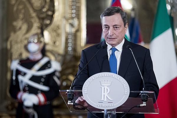 前欧洲央行行长马里奥·德拉吉将出任意大利总理