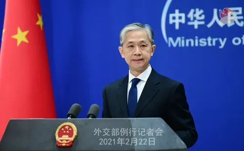 """拜登说,他抵制了中国的""""经济侵略和胁迫"""",中国做出了回应"""