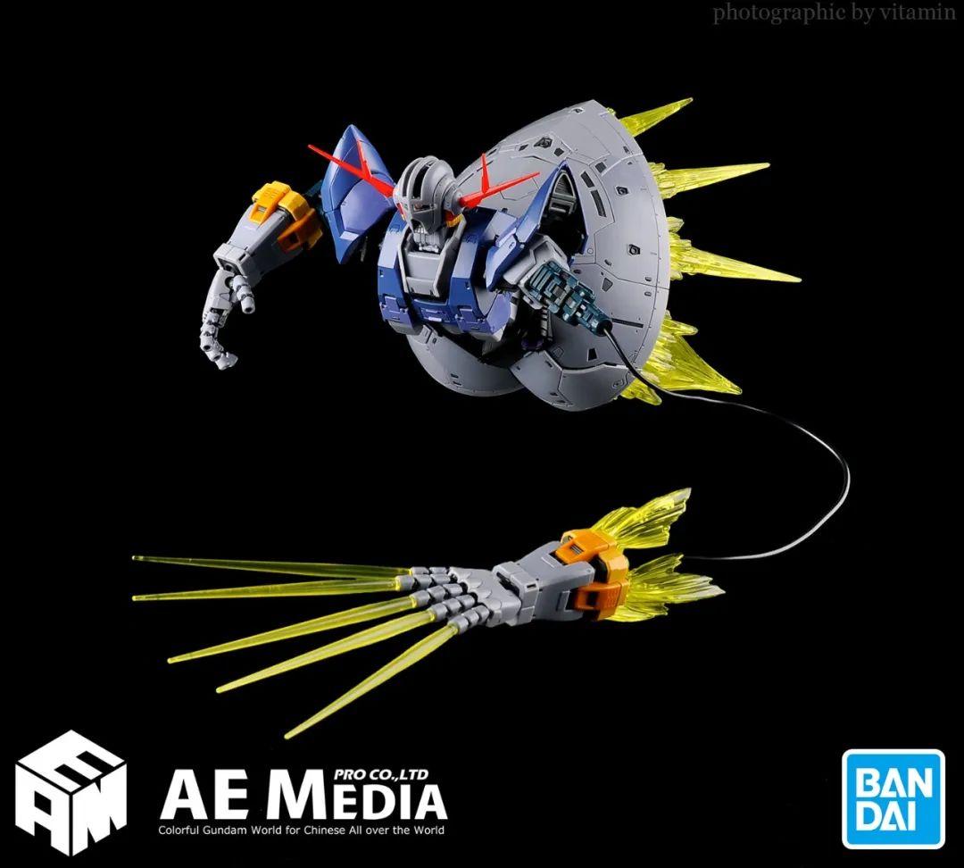 官测 | RG MSN-02 吉恩号(1:144「机动战士高达」最后一击特效套装):碾压级的极致套件