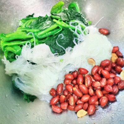 粉丝菠菜(家常小菜5分钟快手美食) 美食做法 第5张