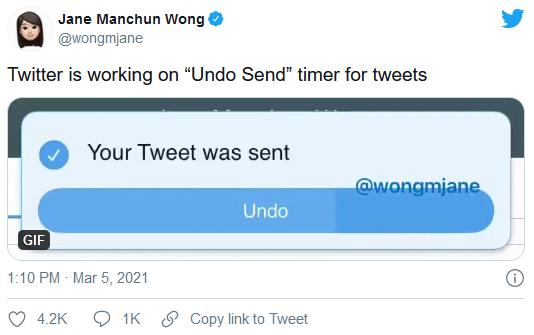 Twitter正在开发推文的