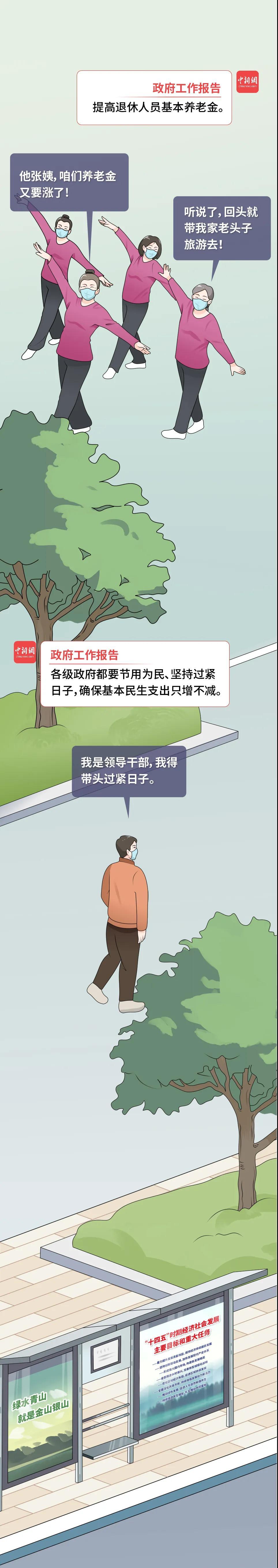 """政府工作报告""""民生红包""""多,邻居们都在聊……"""
