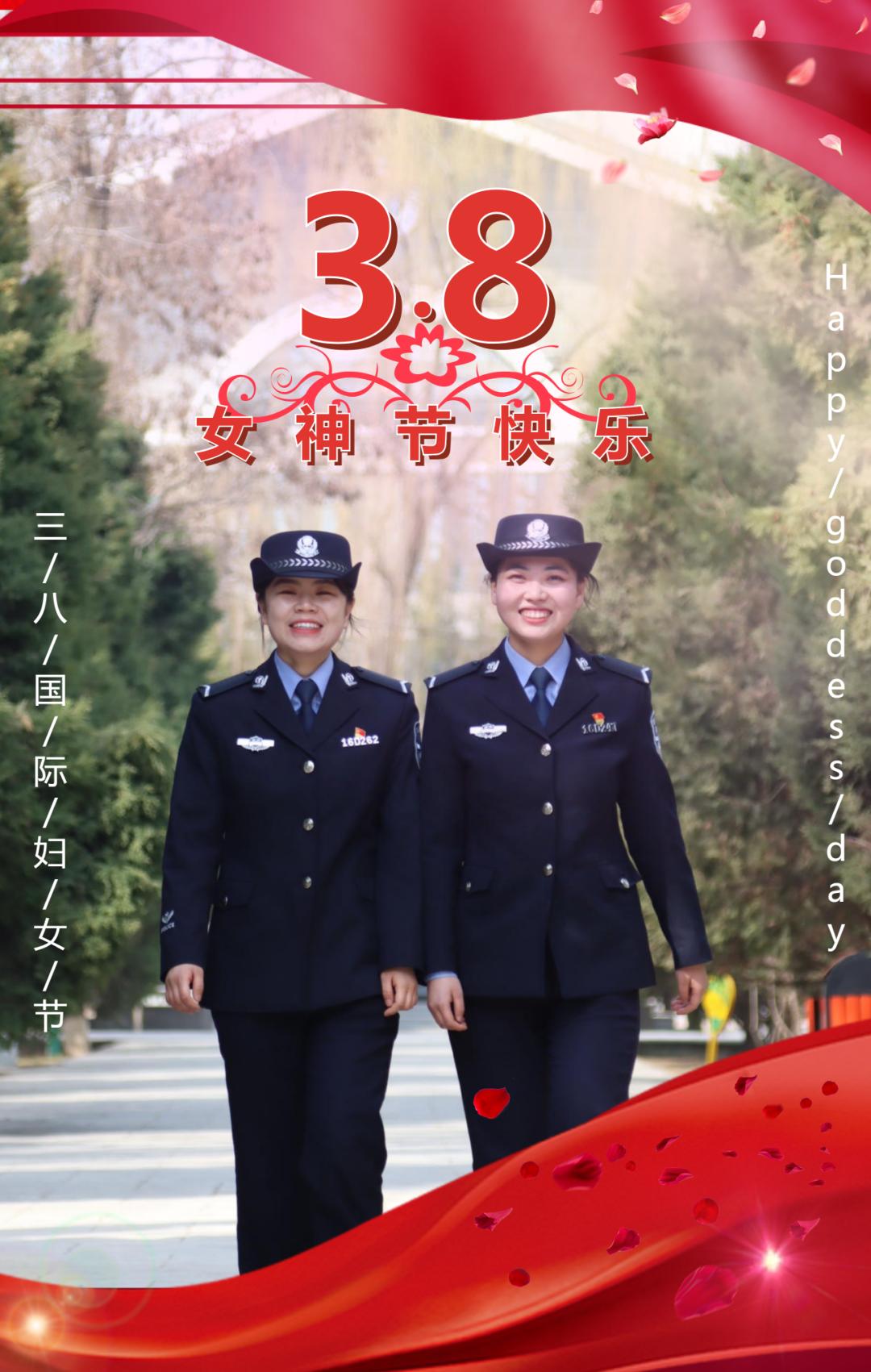 【3•8 特辑】藏蓝戎装 铁血柔情