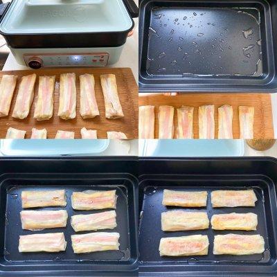 饺子皮春卷 颜值高味道 美食做法 第4张