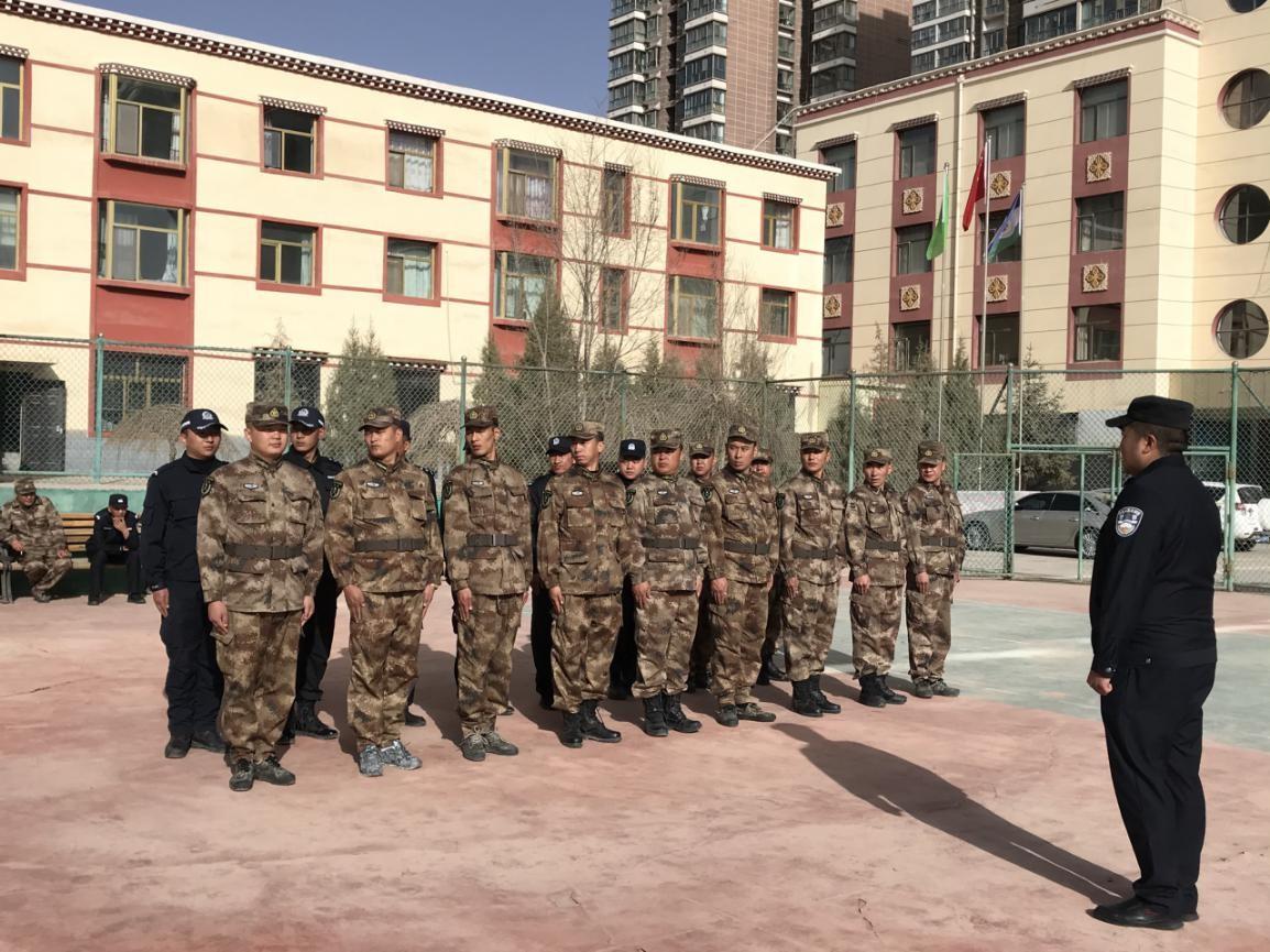 军事发展、训练、集中和力量,可可西里管理处开展军事训练活动