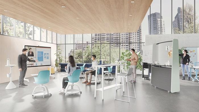 Steelcase将发布未来办公空间的设计方向,借鉴人们在家办公的经验