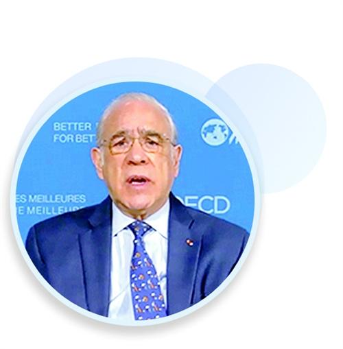 经济合作与发展组织秘书长安吉尔·古里亚:改善全球经济治理离不开中国