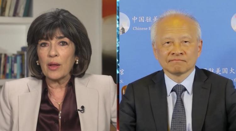 就CNN对新疆的错误报道,崔天凯大使强烈谴责:不道德