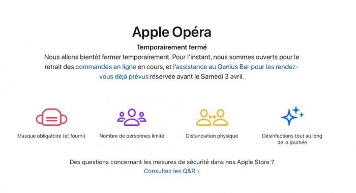 配合新一輪COVID-19封鎖 蘋果關閉法國所有直營門店