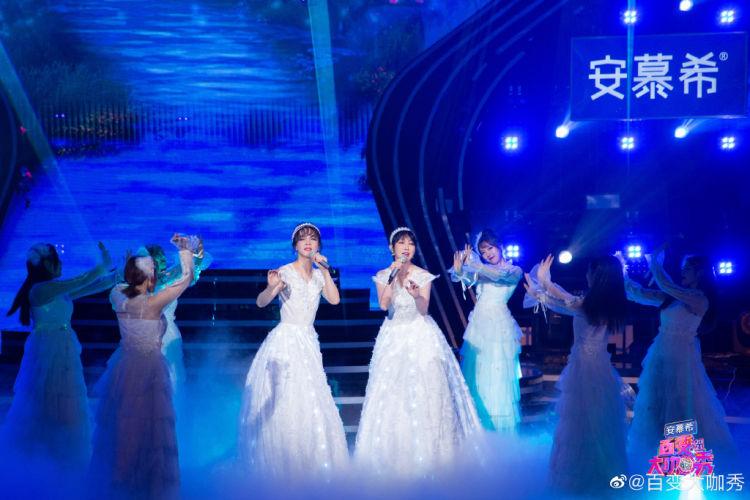 刘嘉玲现身大张伟神模仿黄晓明《百变大咖秀》收视再夺双网第一