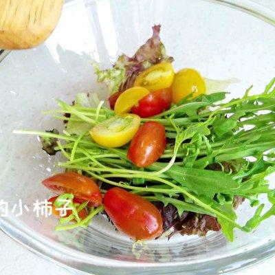 香煎鸡胸蔬果双拼沙拉#321沙拉日# 美食做法 第3张