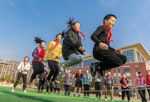 """""""体育是第一学科""""北京一小学到校先上体育课再上横蛮课"""