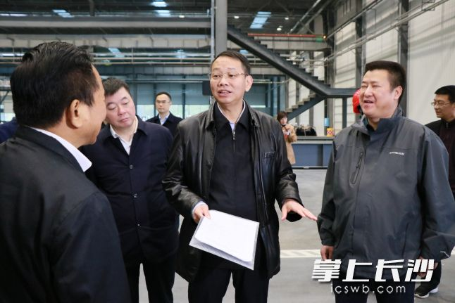 温书勋:确保项目尽早竣工投产