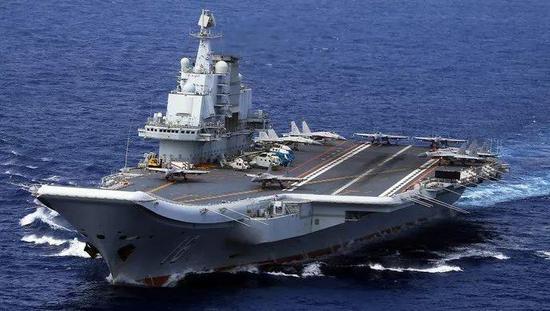 """日媒:遼寧艦向美日展示遠洋作戰能力 而不僅僅是""""路過"""""""