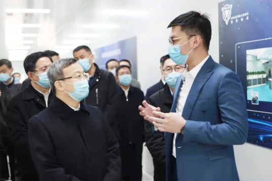 商務部副部長王受文調研大同新研氫能