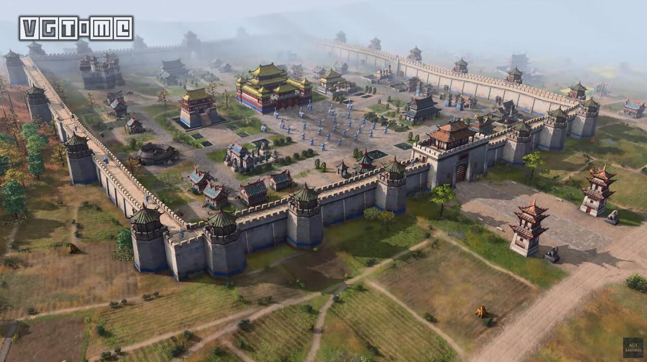 《帝国时代4》将于2021年秋季发售,中国文明亮相