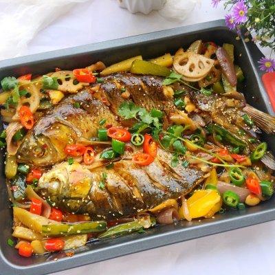 怎样用烤箱烤鱼(烤箱版的家庭香辣烤鱼最过瘾的吃法) 个人心得 第19张