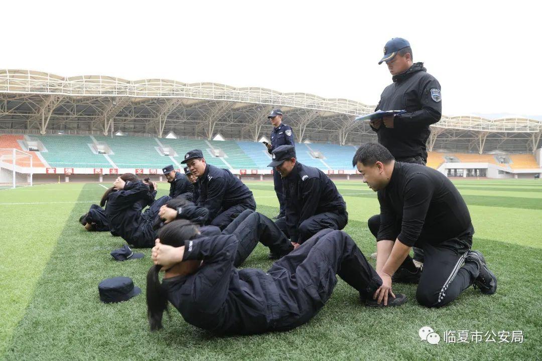 州局送教考核组对临夏市公安局开展第一季度全警实战大练兵送教考核