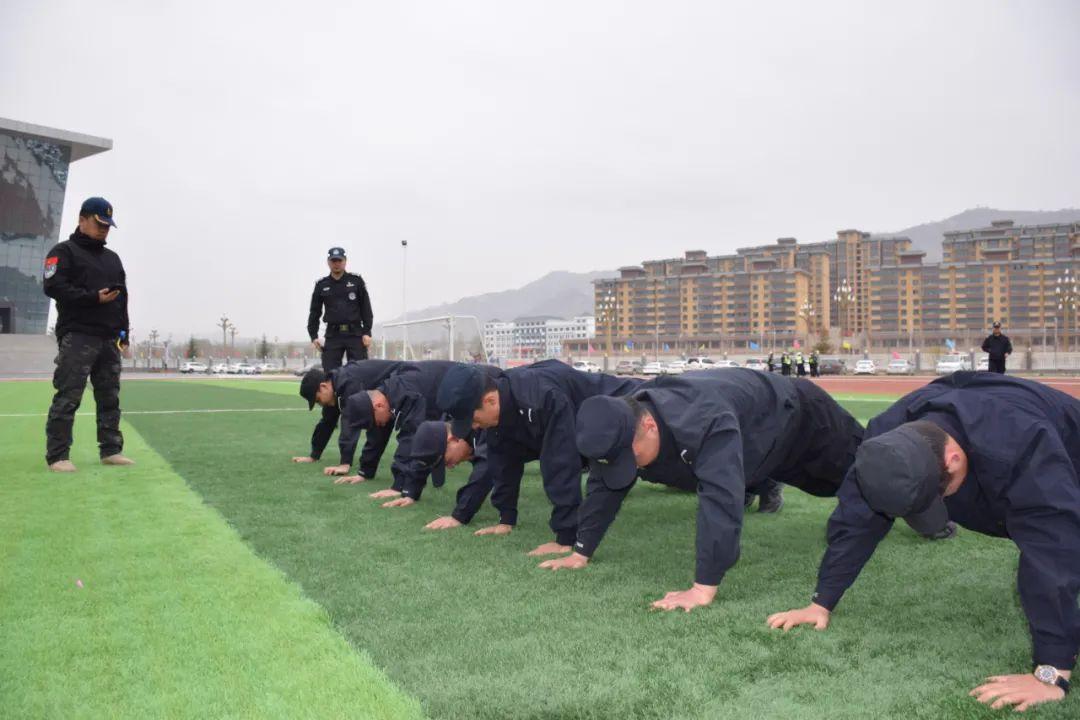 州局送教考核组对广河县公安局开展第一季度全警实战大练兵送教考核