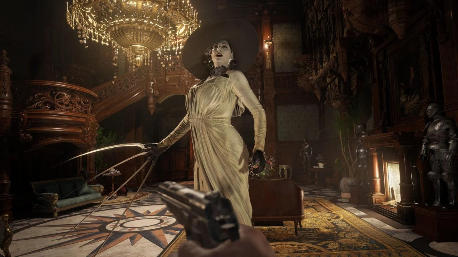 《生化危机8》游戏新截图欣赏 吸血鬼夫人好胸悍