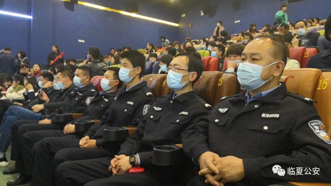 【教育整顿】特警支队组织观看电影《马莲花开》《郭富山》