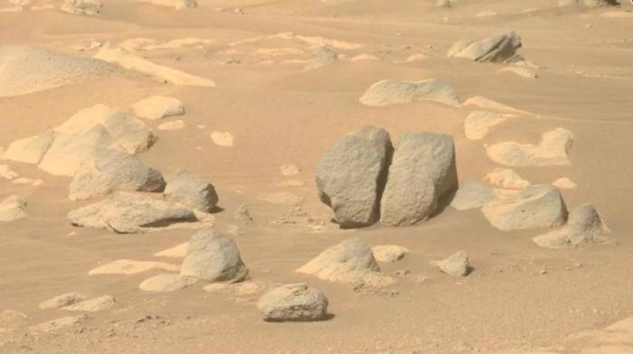 "NASA毅力号火星车拍摄到""腕龙""形状的岩石-第3张图片-IT新视野"