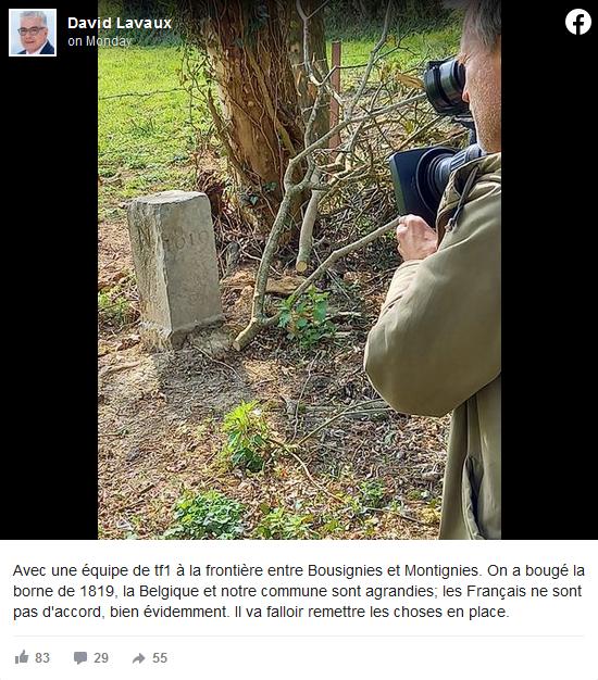 比利时一农民意外移动法比两国边界石 使法国国土变小了