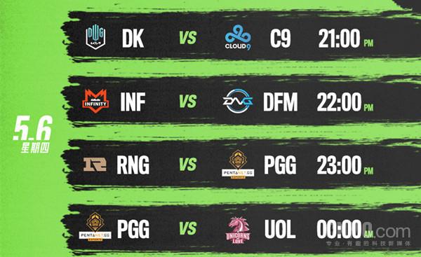 英雄联盟MSI今晚开战 23:00 RNG VS PGG你会看吗?