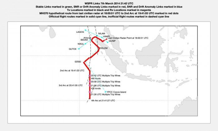 新研究表明马航MH370飞行员执行了大量复杂的变向和调速操作-第3张图片-IT新视野